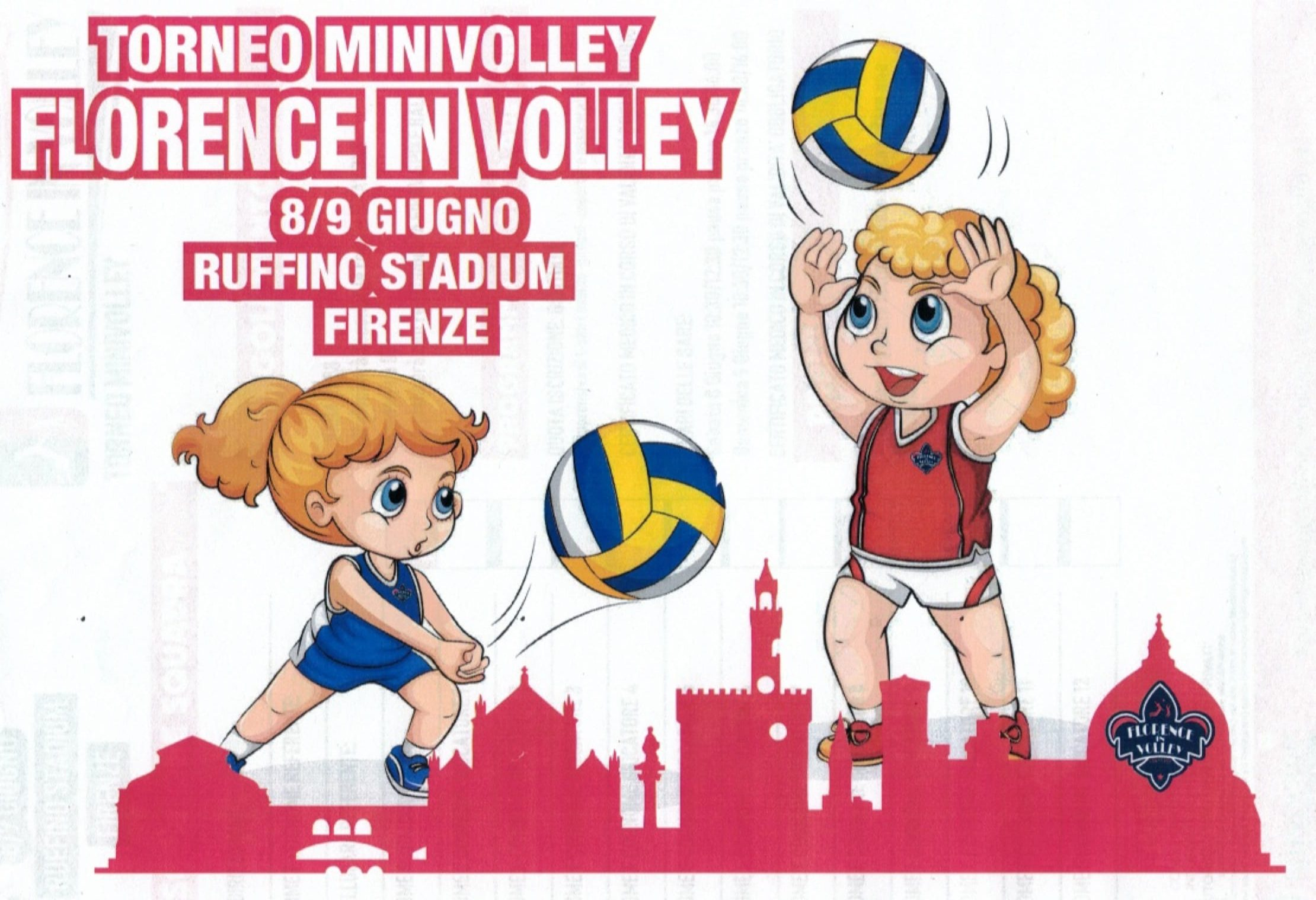 II° Torneo FLORENCE IN VOLLEY cat. U16 e Mini Volley